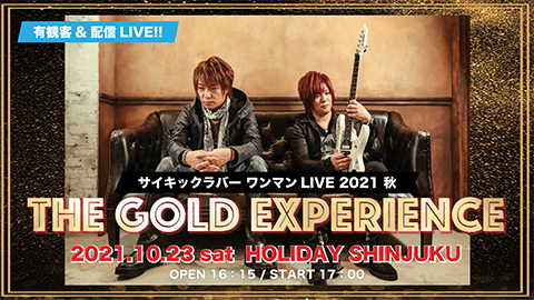 THE GOLD EXPERIENCE LIVE
